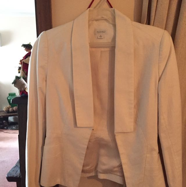 Witchery White Blazer