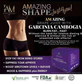 Amazing Grape Juice Garcinia Cambogia (Free Shipping for 2 boxes)