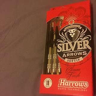 Harrows 英國知名飛鏢品牌 銀箭18g