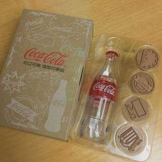 (已售出)可口可樂造型印章組
