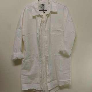 🚚 長版襯衫。Queen shop