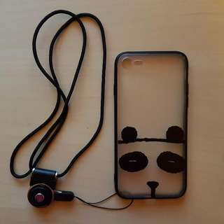 **Clearance Sale** Cute Panda Iphone 7 Cover/Case&Free Gifts