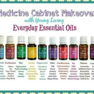 All Young Living Essential Oil