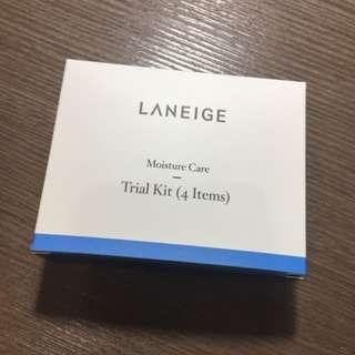蘭芝 - 水酷激活保濕四件旅行組 LANEIGE