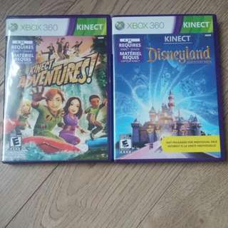 Xbox Kinect Games 6$