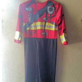 RESERVED! Fireman Costume