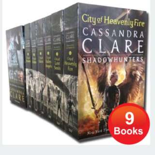 Mortal Instruments & Infernal Devices 9 Books Set