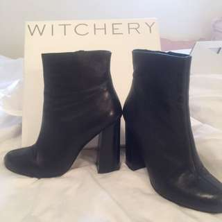 Witchery Leather Boots