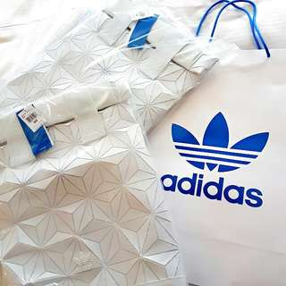 d4ac7b6a877e Adidas X Issey Miyake 3D Roll Top Backpack