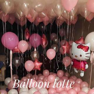 Birthday Room Decoration With Balloon For Children