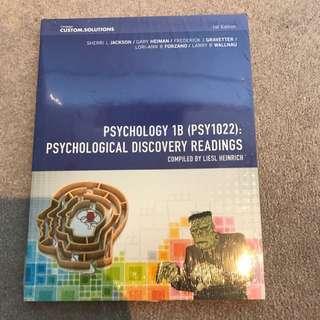 Psychology 1B (PSY1022) Psychological Discovery Readings