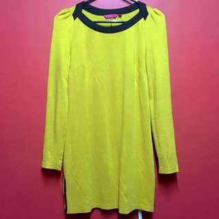 Black & Yellow Dress
