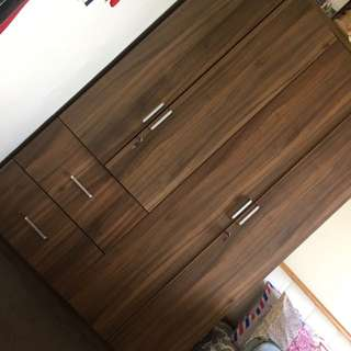 REPRICED‼️Wooden Wardrobe Cabinet