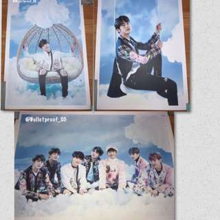 [Poster By Member] BTS WINGS TOUR GOODS