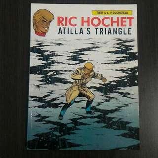 Komik Ric Hochet - Atilla's Triangle