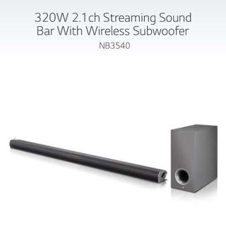LG 2.1 Soundbar 320W NB3540