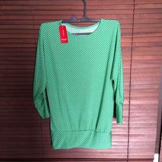 Green Jersey Top
