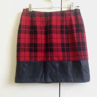 Cute Vintage Tartan Skirt