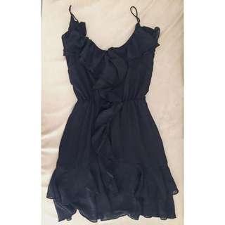 H & M Mini Black Dress