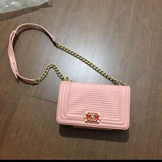 Chanel Boy pink