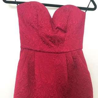ASOS Petite Size 6 Bustier Dress