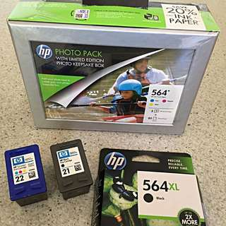 HP Ink Cartridges 564