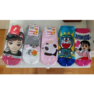 Cute socks anime Doraemon