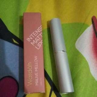 Preloved Wardah Intense Matte Lipstick No 4 (Mauve Mellow)