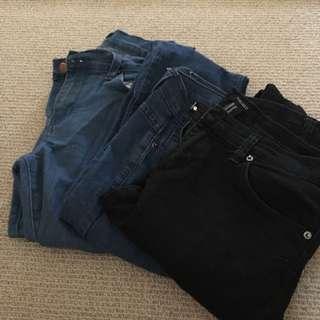 3x Forever21 Denim Jeans