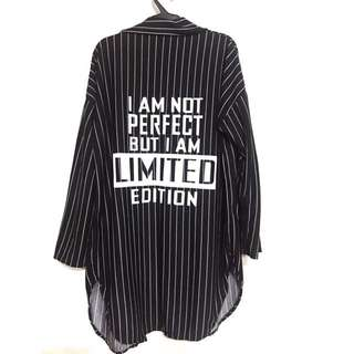 I am not perfect but I am Limited Edition Long Cardigan