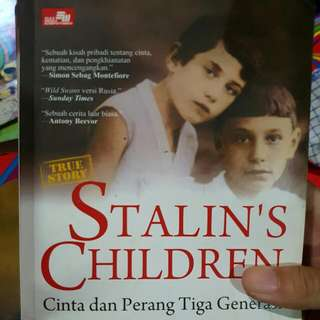 Buku Stalin's Children (SOFT COVER)