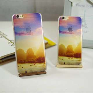 Sunset Mountain iPhone Cover