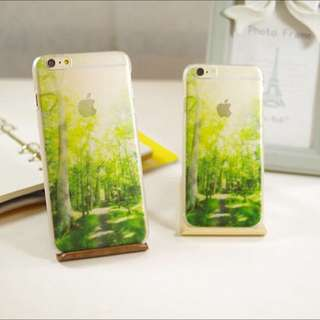 Green Forest iPhone Cover