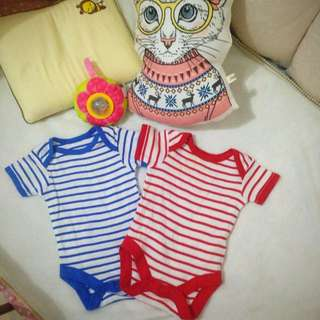 Mothercare Jumper Stripped Red And Blue Size 0-3 Bln