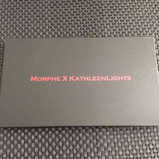 Kathleen Lights X Morphe Eyeshadow Palette