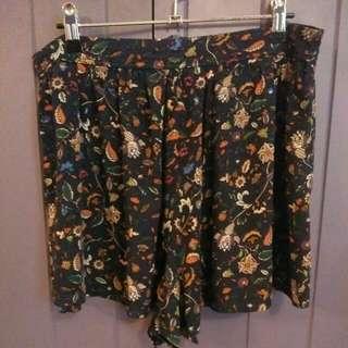 Brave Soul Floral Paisley Shorts