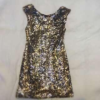 Sequin Pilgrim mini-dress S10