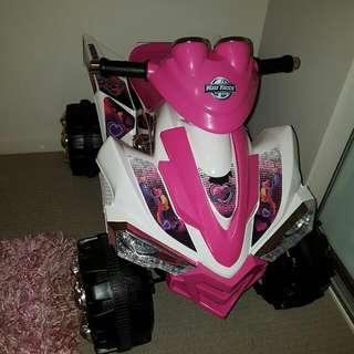 12V Pink Xtreme Quad