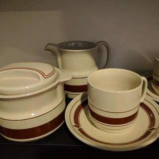 Rare! Unused Vintage Tea Set