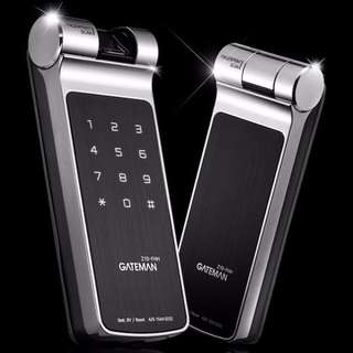 Gateman Latest Fingerprint Hook Digital Lock - HDB BTO CONDO Main Door at $450 (Call 96177025)