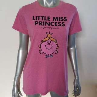 Little Miss Princess T-Shirt Size L