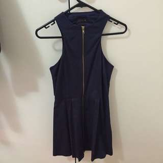 FREE ✈️ BNWT Pilgrim Dress Navy Size 6