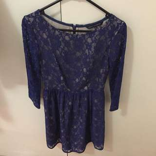 FREE ✈️ FCUK Lacey Dress Size 6