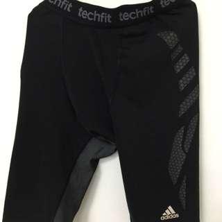 Adidas愛迪達機能運動褲