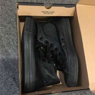 High Cut Leather Converse Shoes