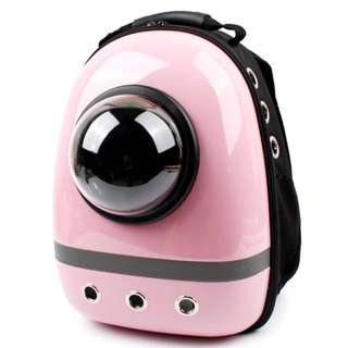 Pet Carrier Backpack Astronaut Capsule