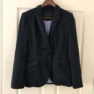 Zara Basic Cotton Blazer