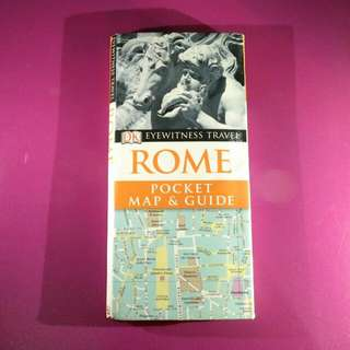 Rome: Pocket Map & Guide