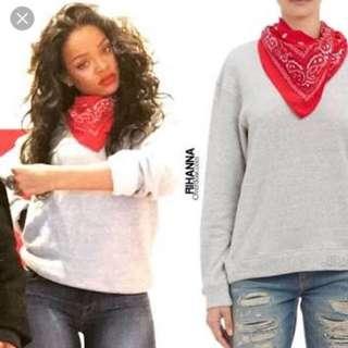 R13 Rhianna Bandana Sweater
