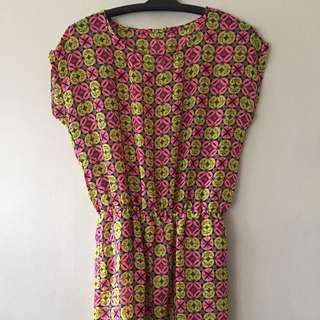 SALE! Printed casual dress